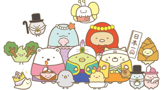 すみっコ_キャラクター集合ビジュアル