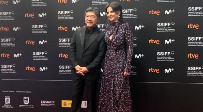『真実』是枝裕和監督、ジュリエット・ビノシュが第67回サン・セバスティアン国際映画祭登場!
