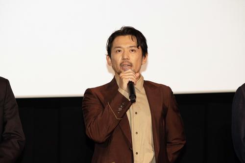 岡田義徳『3人の信長』公開記念舞台挨拶