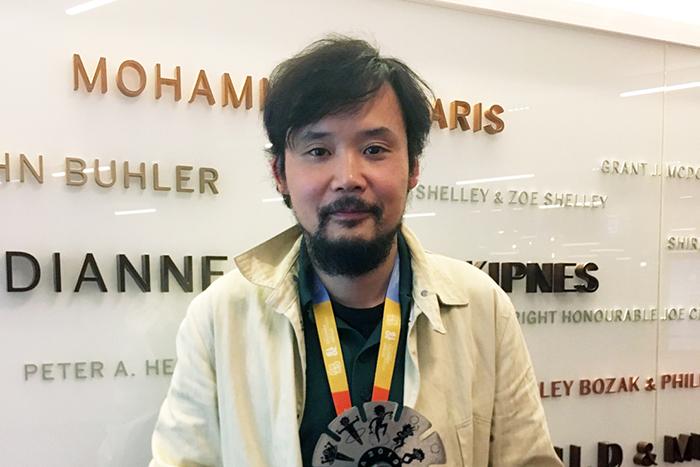 岩井澤健治監督オタワ国際アニメーション映画祭長編コンペグランプリ