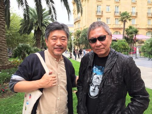 是枝監督×三池監督第67回サン・セバスティアン国際映画祭