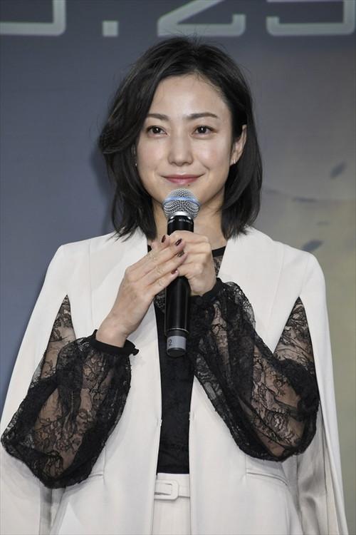 菅野美穂_映画『ジェミニマン』公開アフレコイベント