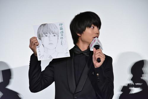 伊藤健太郎『惡の華』公開記念舞台挨拶