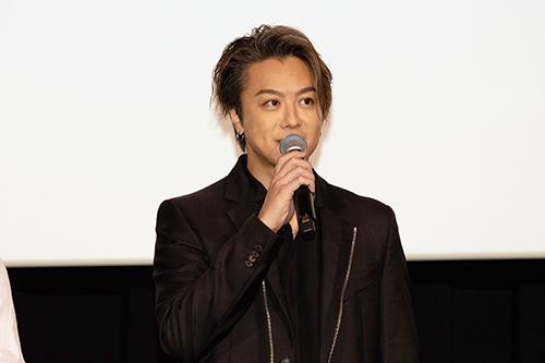 TAKAHIRO『3人の信長』公開記念舞台挨拶