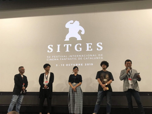 『ゴーストマスター』シッチェス映画祭 ヤングポール監督 現地レポ