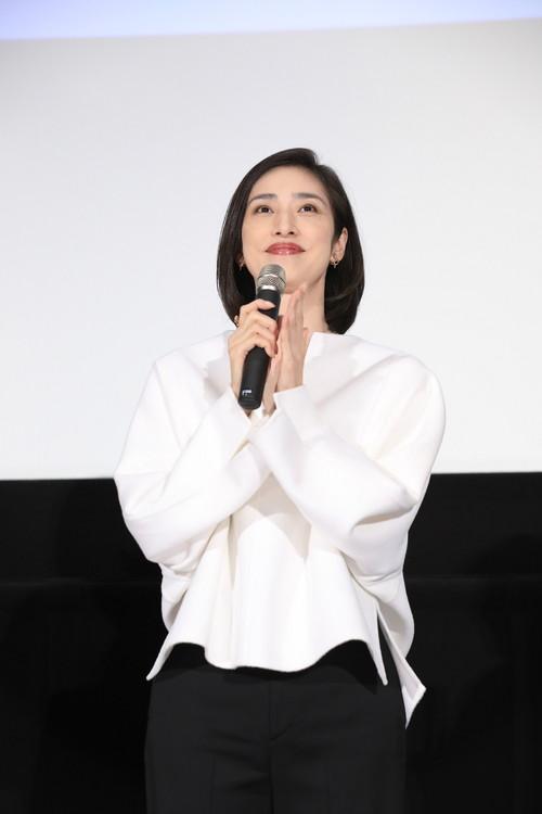 天海祐希『最高の人生の見つけ方』公開記念舞台挨拶