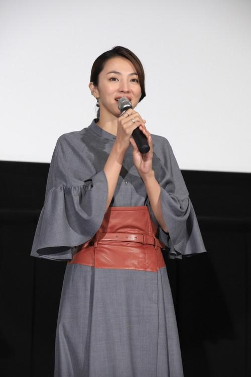 満島ひかり映画『最高の人生の見つけ方』公開記念舞台挨拶