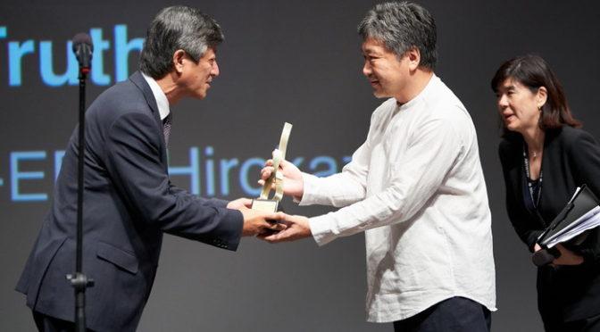 『真実』是枝裕和監督が第24回釜山国際映画祭にてAsian Filmmaker of the yearを受賞