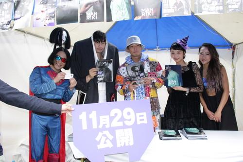 斎藤工,永野,金子ノブアキ,SWAY『MANRIKI』BE Vint-Age 2019コラボステージ