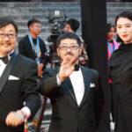 三吉彩花・清水崇監督レッドカーペットを闊歩!『犬鳴村』第3回平遥国際映画祭