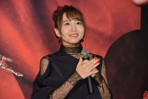 地獄少女完成披露試写会s大場美奈(SKE48)