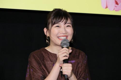 映画『生理ちゃん』完成披露舞台挨拶_伊藤沙莉