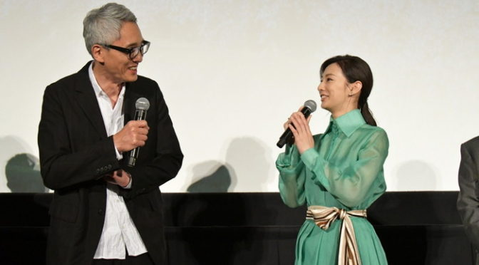主演:松重豊 記憶の三谷幸喜に宣戦布告!映画『ヒキタさん! ご懐妊ですよ』公開記念舞台挨拶
