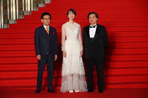 第-32-回東京国際映画祭この世界の(さらにいくつもの)片隅に-2のん、片渕須直監督、真木太郎
