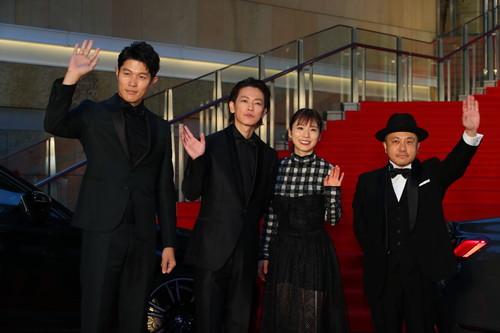 第32回東京国際映画祭-26ひとよ-白石和彌監督、佐藤健、鈴木亮平、松岡茉優