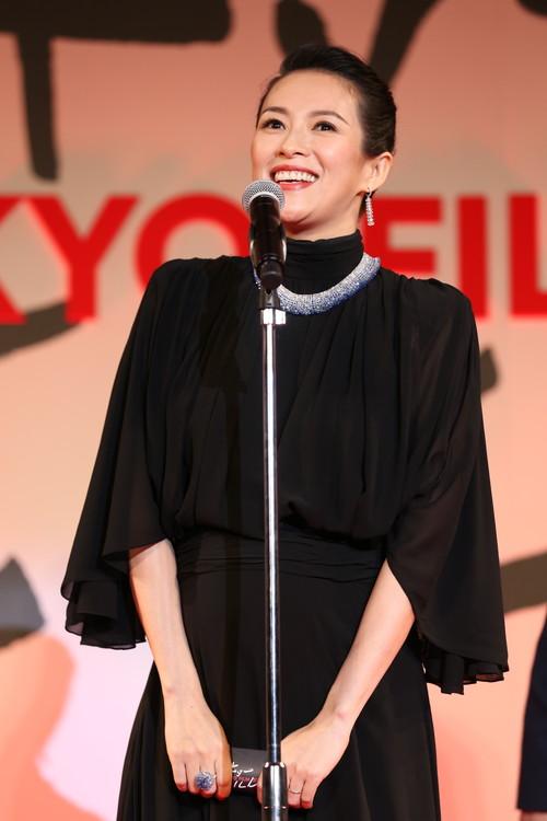 第32回東京国際映画祭 (15)チャン・ツィイー