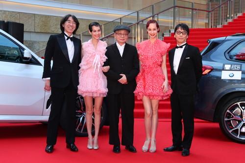 第32回東京国際映画祭-5NO-SMOKING-細野晴臣、水原希子、水原佑果、佐渡岳利監督