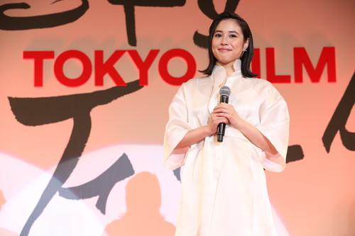 第32回東京国際映画祭フェスティバル・ミューズ  広瀬アリス