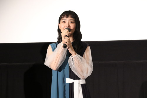 01奈緒イオンシネマ岡山『ハルカの陶』舞台挨拶[1]