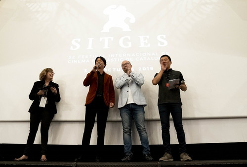 Netflixオリジナル映画『愛なき森で叫べ』シッチェス映画祭プレミア上映_2 (1)