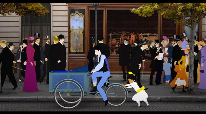 ミッシェル・オスロ監督作品『ディリリとパリの時間旅行』ブルーレイ、DVD発売決定!