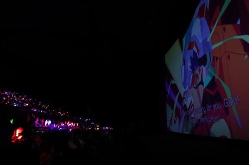 映画『プロメア』東京国際映画祭 (今石洋之監督、中島かずき、佐倉綾音:氷川竜介)