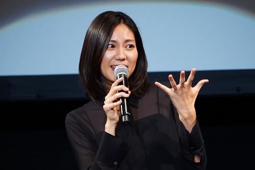 松下奈緒、ディーン・フジオカ『エンジェルサイン』完成披露試写会