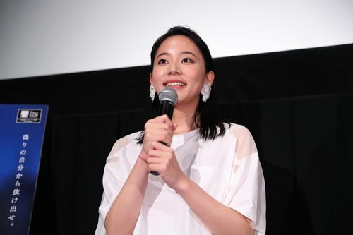 大西礼芳『花と雨』-舞台挨拶第32回東京国際映画祭