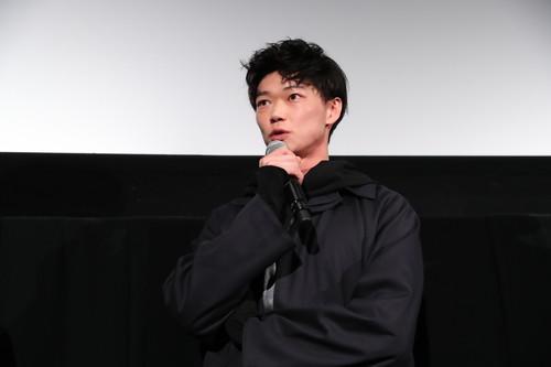 笠松将『花と雨』-舞台挨拶第32回東京国際映画祭