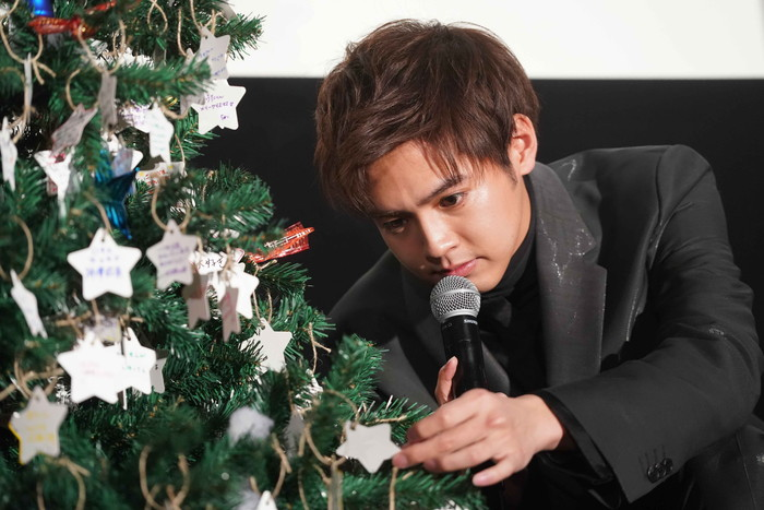 """片寄涼太、全女子を""""シンデレラ""""気分に!!『午前0時、キスしに来てよ』大ヒット御礼クリスマスイベント"""