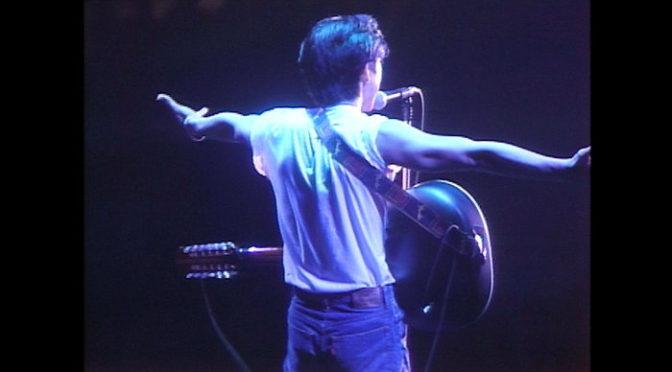 尾崎豊が「シェリー」を魂で歌う鳥肌必至の超貴重なライブ映像解禁『尾崎豊を探して』