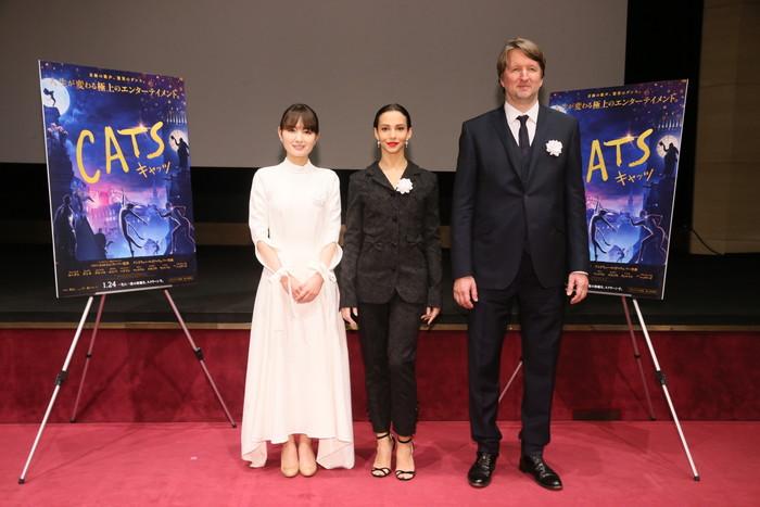 映画『キャッツ』チャリティ試写会 葵わかならが天皇皇后両陛下、愛子内親王殿下と猫の話題で盛り上がった!