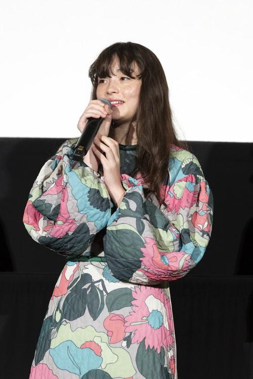 モトーラ世理奈『風の電話』公開記念舞台挨拶