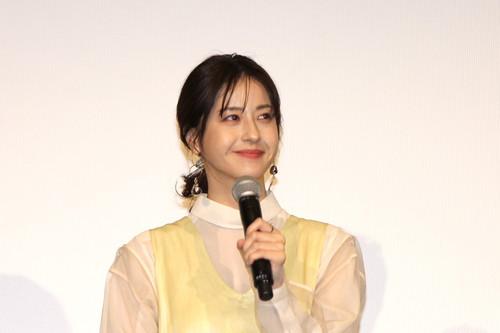 松本若菜『his』0125公開記念舞台挨拶