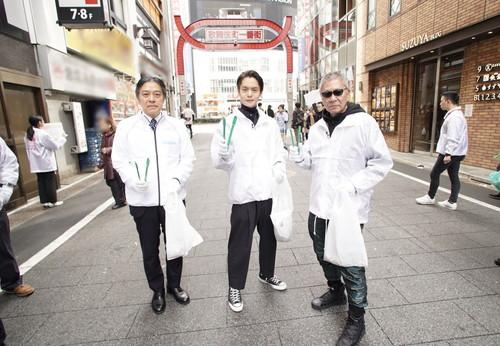 『初恋』 歌舞伎町クリーンイベント