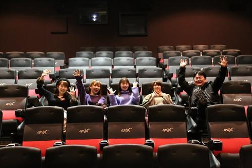 『劇場版 ハイスクール・フリート』 4DX試乗会