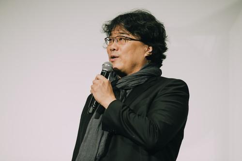 ポン・ジュノ監督『半地下の家族』舞台挨拶