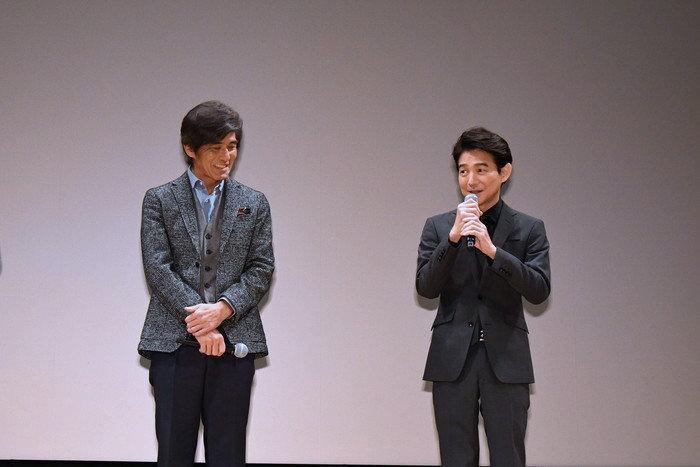 佐藤浩市・吉岡秀隆・若松節朗監督が作品への想いを語った『Fukushima 50』報知映画賞・特選試写会舞台挨拶