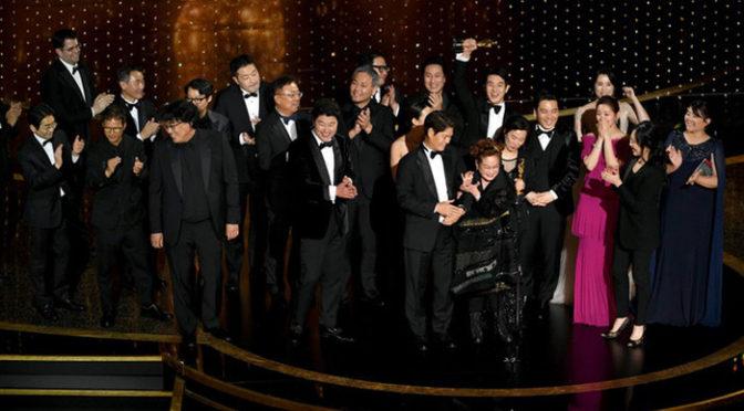 『パラサイト 半地下の家族』がアジア映画として初めて「作品賞」獲得!アカデミー賞授賞式受賞結果