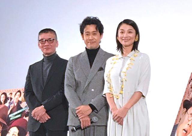 大泉洋 札幌凱旋『グッドバイ~嘘からはじまる人生喜劇~』舞台挨拶付き先行上映会