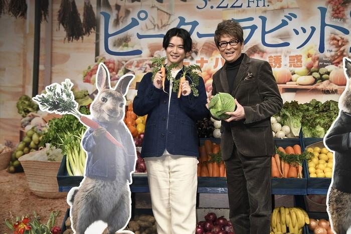 千葉雄大x哀川翔 『ピーターラビット2』