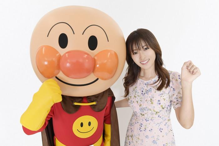 深田恭子&アンパンマン2ショット