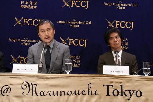 Fukushima 50 (日本外国特派員協会記者会見