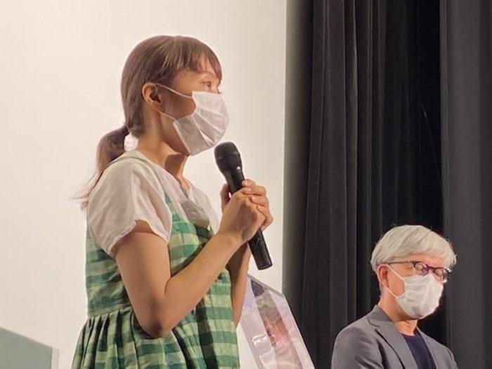 小松真弓監督『もち』初日舞台挨拶