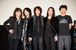 THE YELLOW MONKEY、松永大司監督登壇舞台挨拶「オトトキ」ミッドナイト先行上映