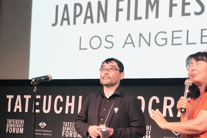 武正晴ロサンゼルス日本映画祭授賞式700