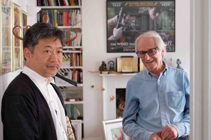 Hirokazu Koreda in conversation with Ken ケン・ローチ監督・是枝監督
