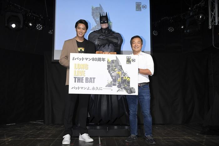 バットマン80thジム・リーx渋谷鈴木伸之