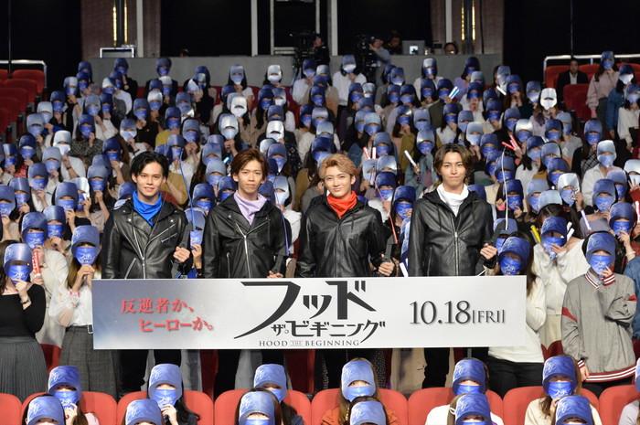 映画『フッド:ザ・ビギニング』ジャパンプレミア