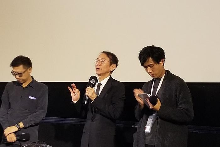 周防正行監督 映画『カツベン!』台北金馬映画祭出席